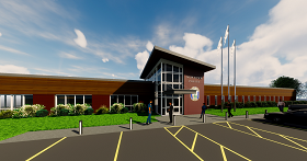 rendering of police station