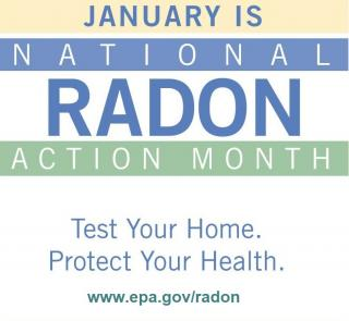National Radon Action Month is January