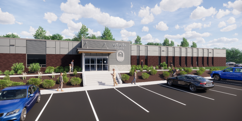 Police Facility Rendering